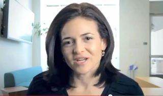 Cheryl sandberg video