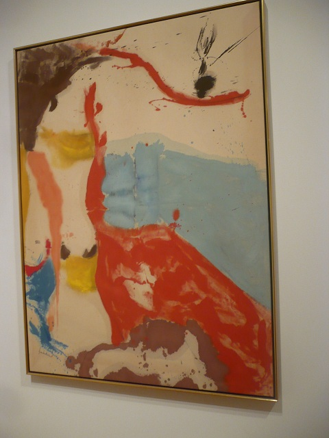 Helen frankenthaler buzzard's bay seattle art museum sam