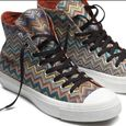 Missoni converse chuck taylor blue orange