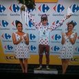 Polka dot dress tour de france gerardmer 2014